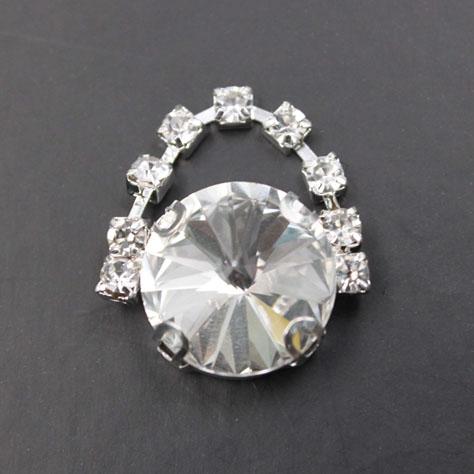 Round Crystal Rhinestone Trimming