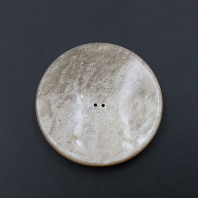 Round Resin 2 Holes Button