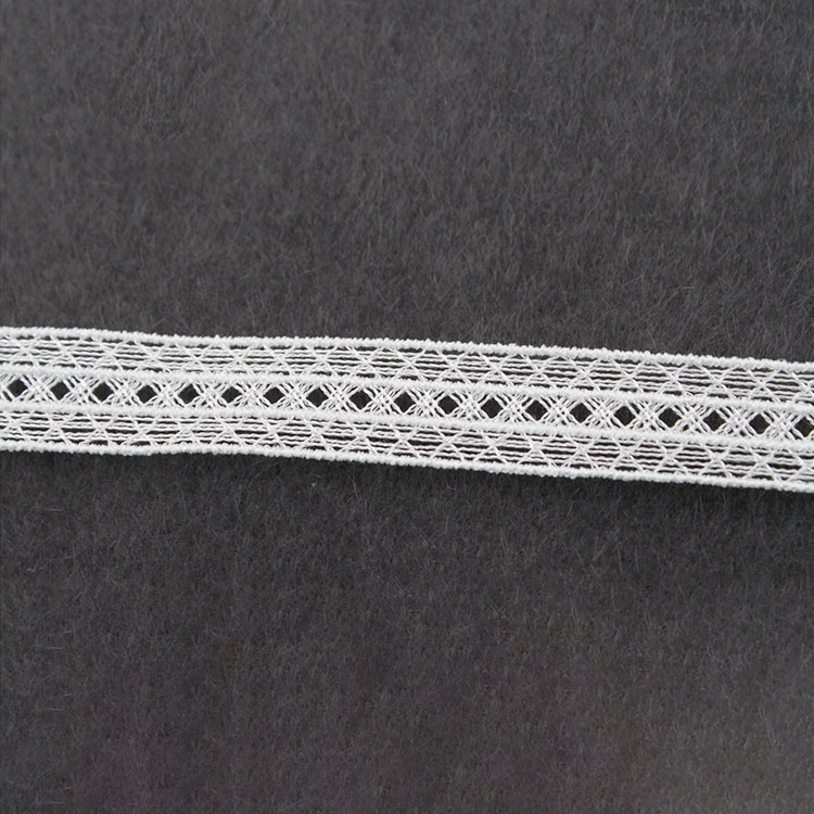 Simple DoubleBorderPositioning French EmbroideredLace