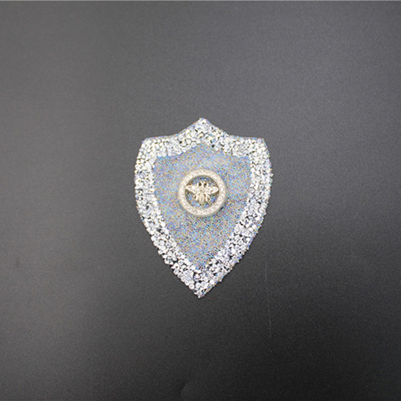Wholesale Diamond Metal Bee Hit Transfer Patches