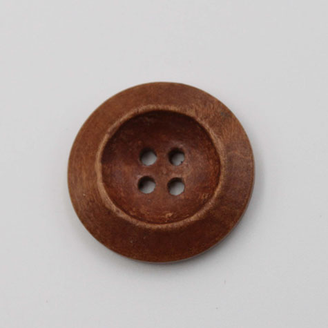 Wood Buttons For Garment