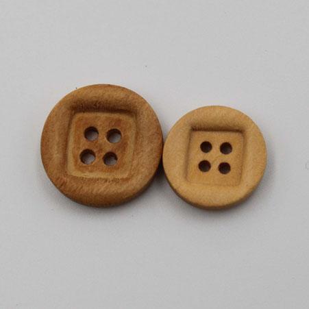 Wooden Button 20mm 4 Holes