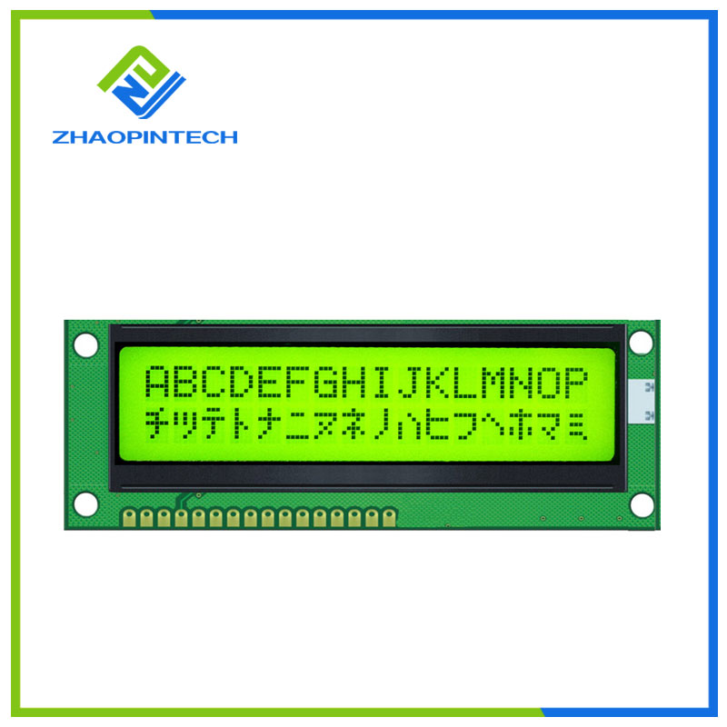1602 Character LCD Display