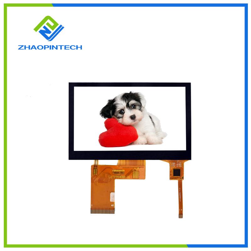 4.3 дюйм 480x272 СКД сенсорлы экраны
