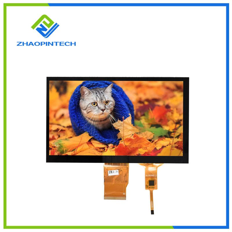 7 дюймдік 800x480 СКД сенсорлық экраны