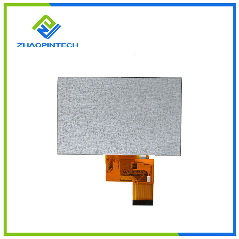 5 tuuman TFT-LCD-näyttö 800x480