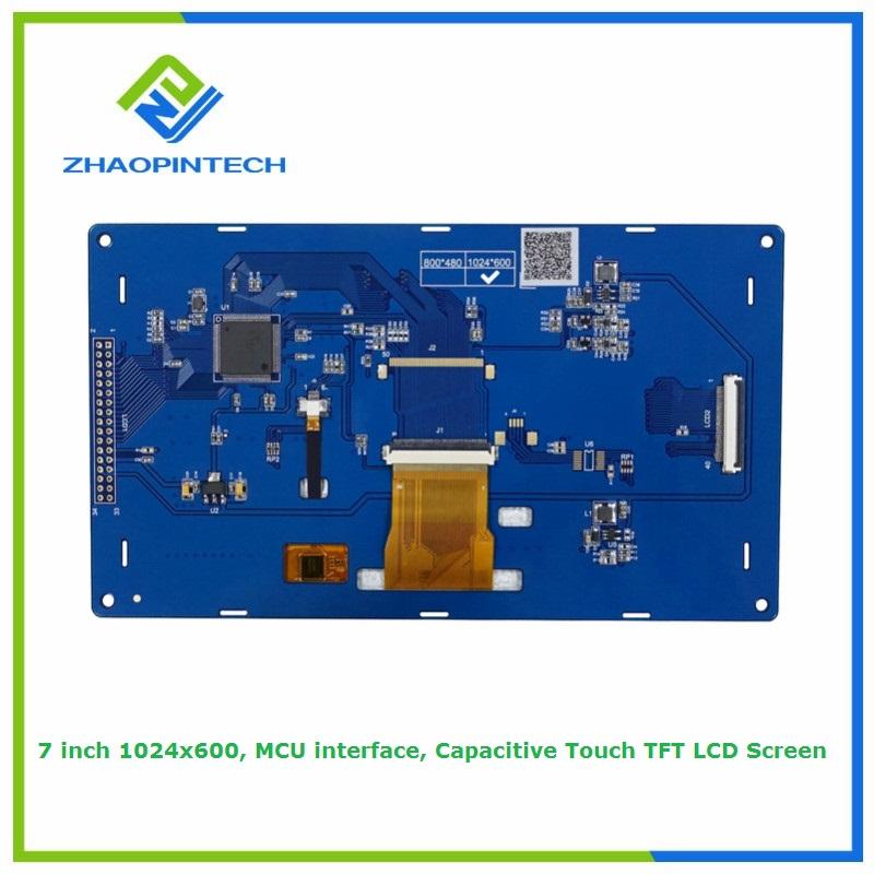 7 дюймдік Arduino LCD дисплейі 1024x600