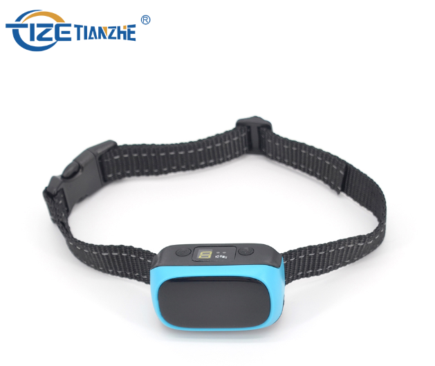 2 in 1 Function No Shock Bark Collar Rechargeable Trainer