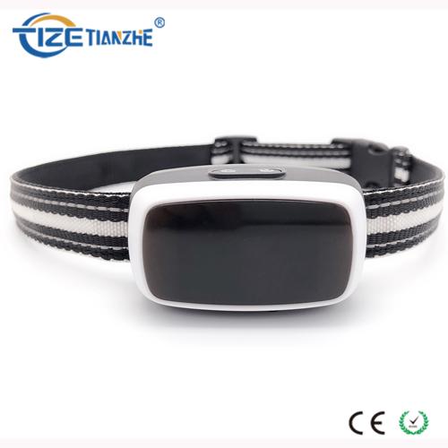Recargable e impermeable Led Display Anti Bark Collar con Light Up Collar