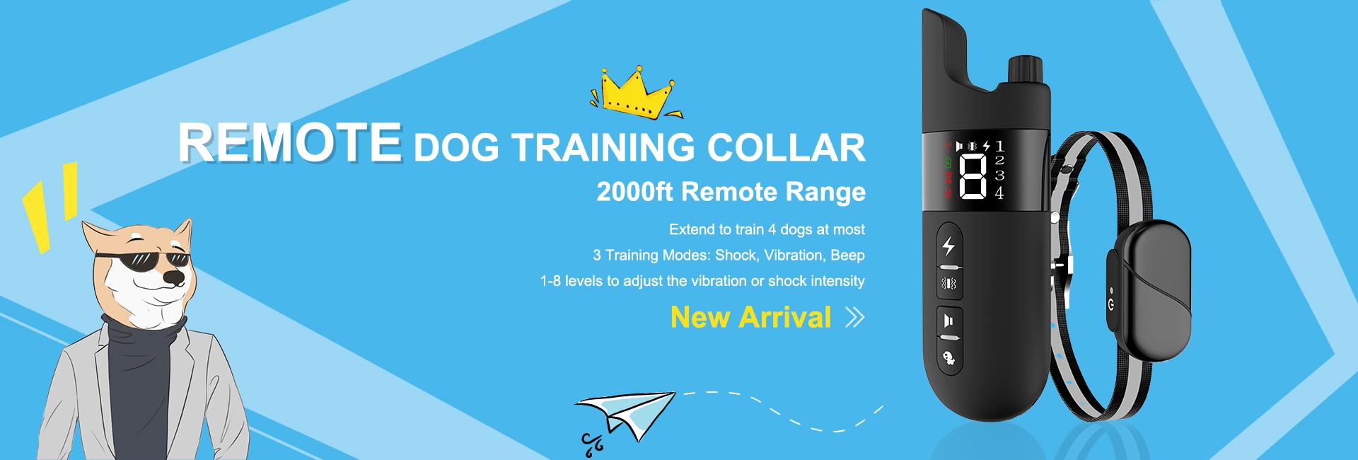 Νέο προϊόν USB επαναφορτιζόμενο κολάρο απομακρυσμένης εκπαίδευσης σκύλου αδιάβροχο