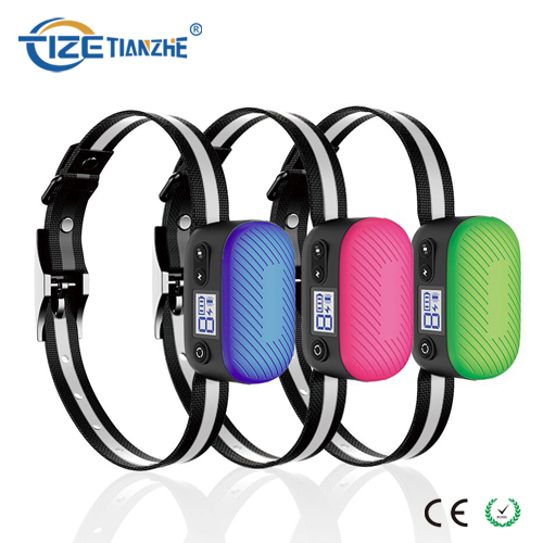 Rechargeable New Arrival Pet LED Dog Bark Collar