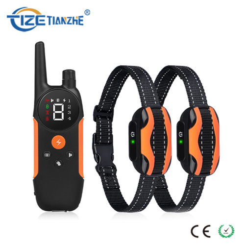 300 Meter Remote Control 2 Dogs Rechargeable Shock Training Collar