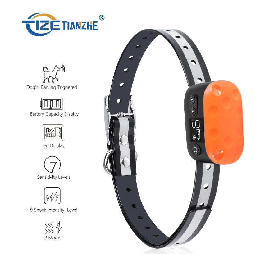 Bark Collar With Beep Vibration and No Harm Shock