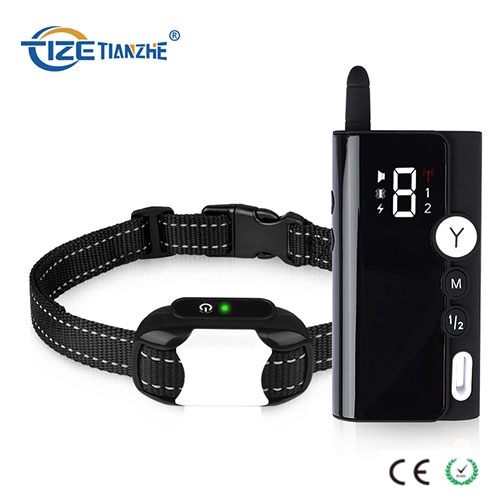 Double Color Rechargeable 300 Meters Remote Vibrating Pet Training Collar