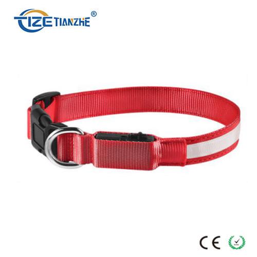 Heavy Duty Glowing USB Rechargeable Waterproof LED Pet Dog Collar