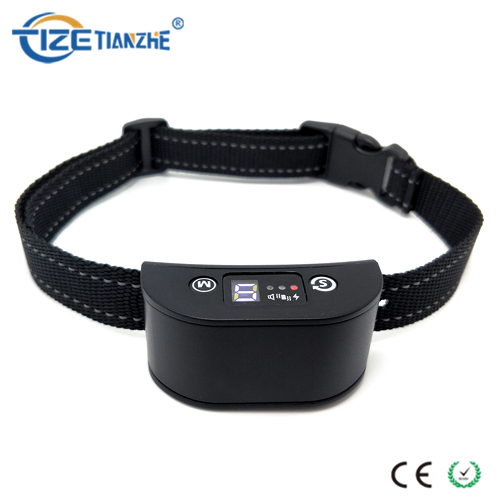 LED Digital Display Dog No Bark Collar