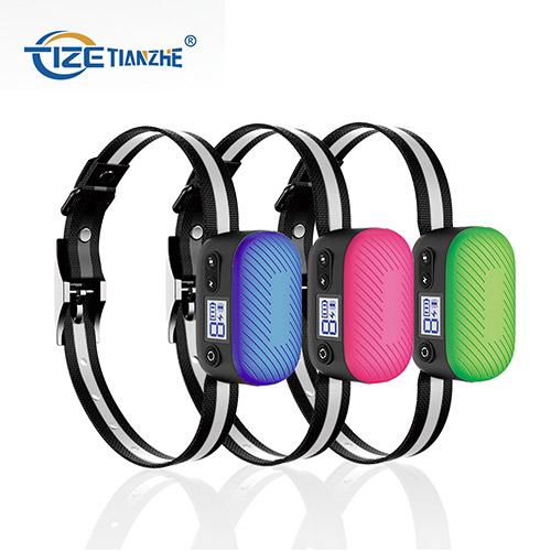 LED Digital Display Vibration and Shock Combined Dog No Bark Collar TZ-C901