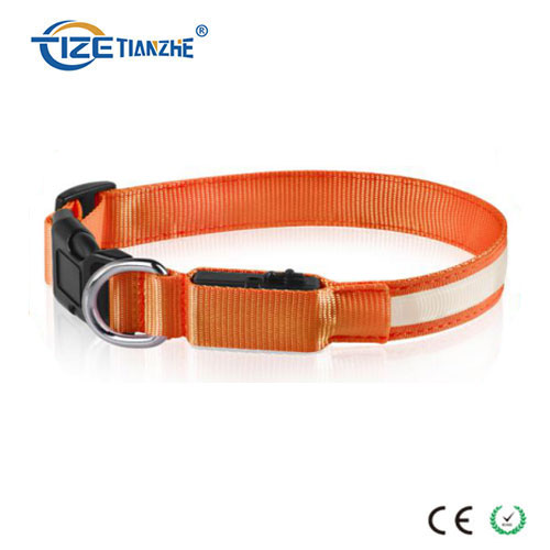 Glowing USB Rechargeable Waterproof Luminous LED Dog Collar