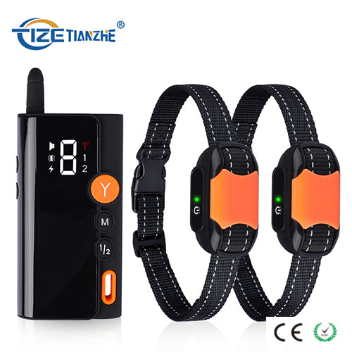 300 Meters Remote Electric Shock 2 Dogs Training Device