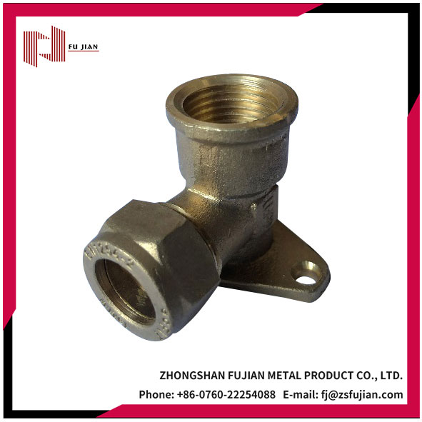453 Series C x FI Wall Plated Elbow