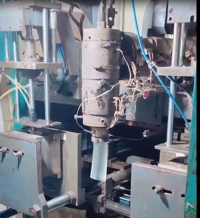 Blow molding production in China