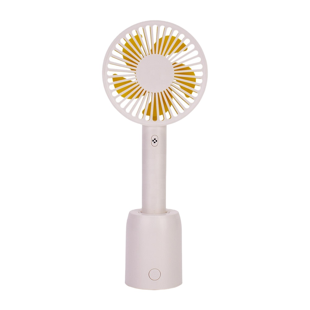 Rotation mini usb rechargeable handheld fan