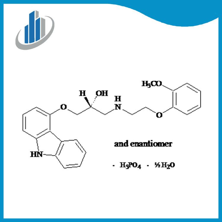 Карведилол фосфат CAS 610309-89-2