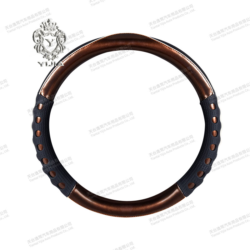 Pu Leather Universal Fashion Car Steering Wheel Cover LSY-2