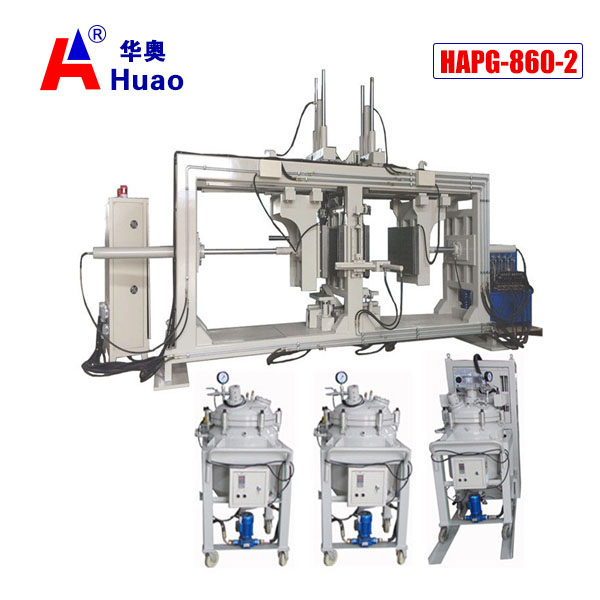 Most Affordable Model of APG Machine Double Station Epoxy Resin APG Clamping Machine