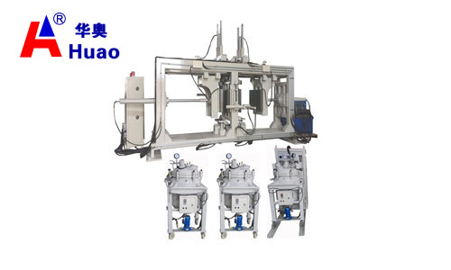 Epoxy resin automatic pressure gel hydraulic APG clamping machine