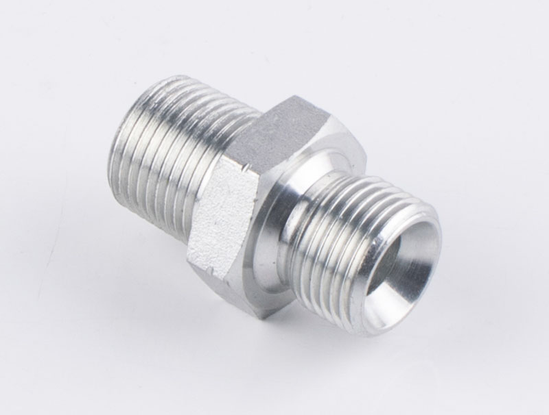 1BN BSP MALE DOUBLE USE FOR 60 ° CONE SEAT OR BONDED SEAL / NPT MALE