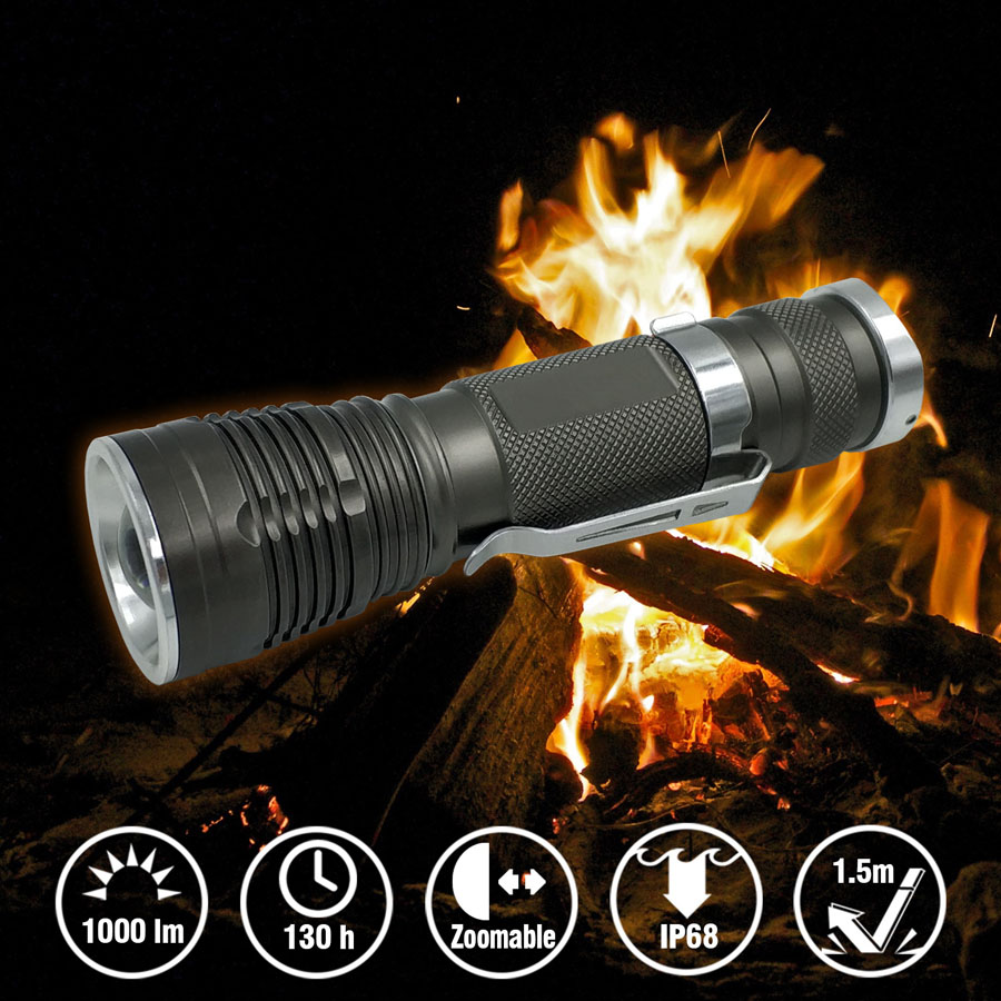 Small Zoomable Flashlight