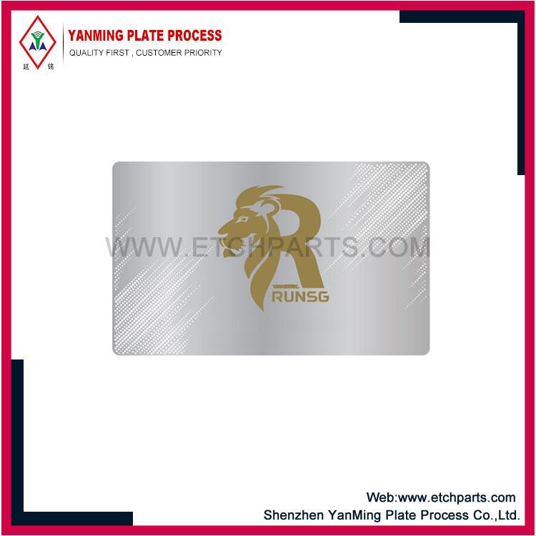 Alumiiniumist visiitkaart