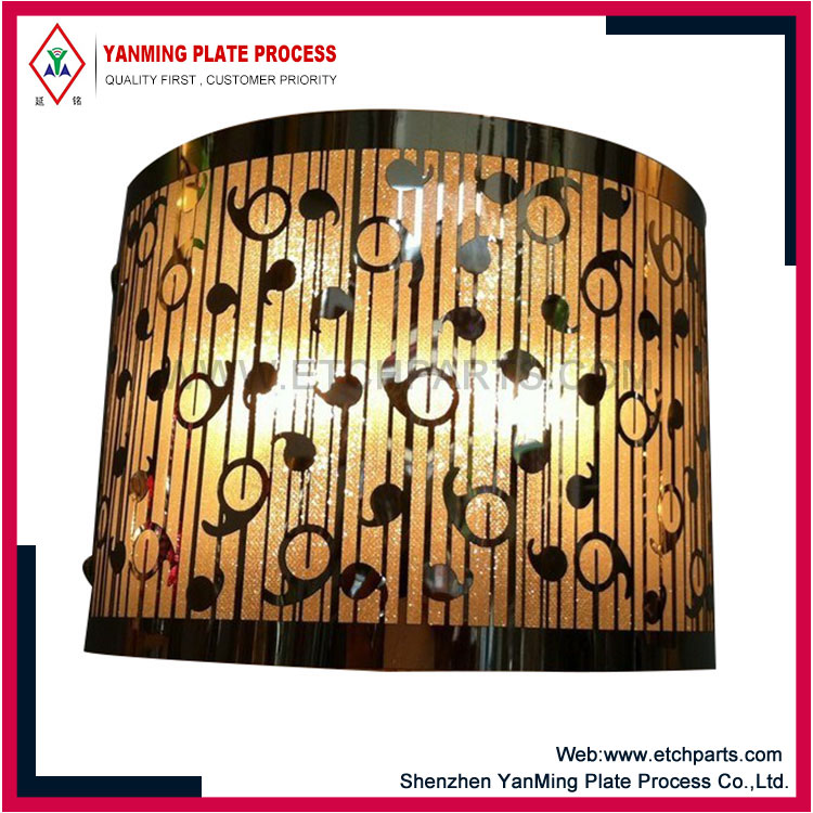 Etched Lampshade