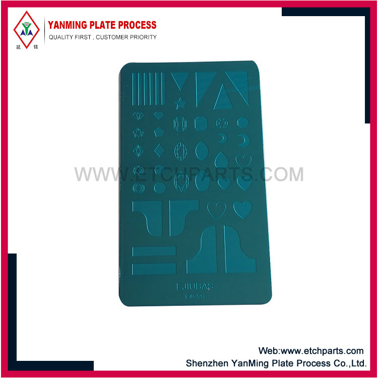 Stainless Steel Nail Stamping Template