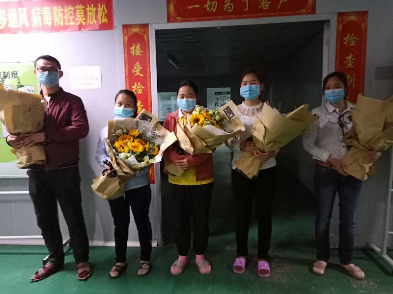 Hubei Colleagues Return to Work