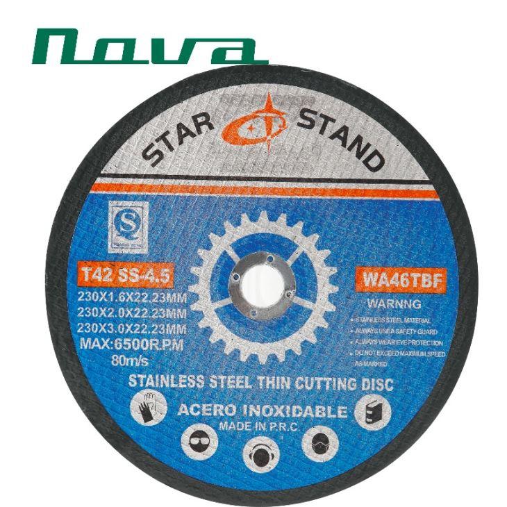 9-Zoll-Trennrad für gehärteten Stahl