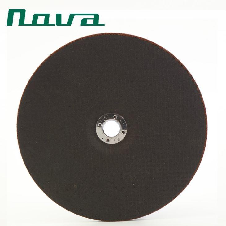 چرخ سنگ زنی فشرده شده 7 اینچ آلومینیوم برای فلز