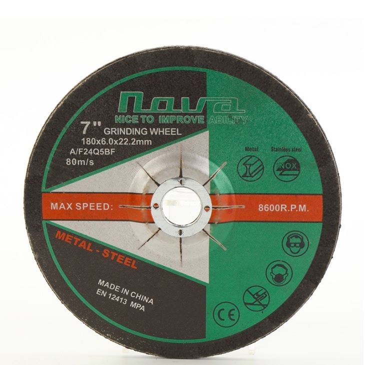 180mm Angle Grinder High Speed Grinding Wheel