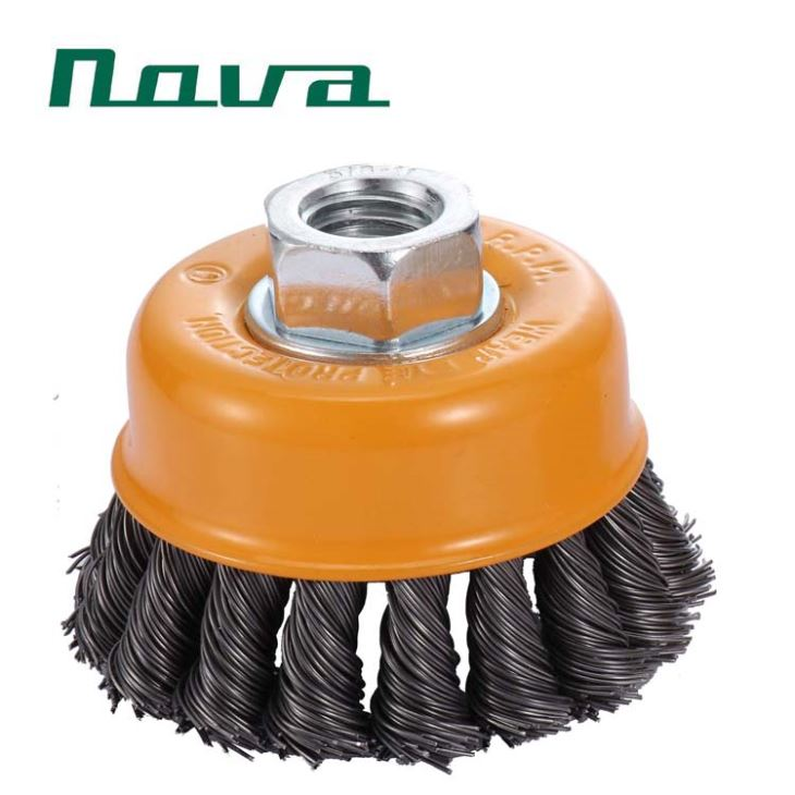 Fine Bowl Wire Brush For Cleaning Metal