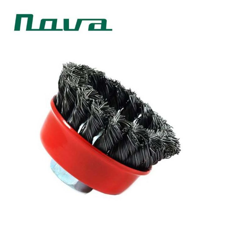 3inch twist knot wire bowl brush