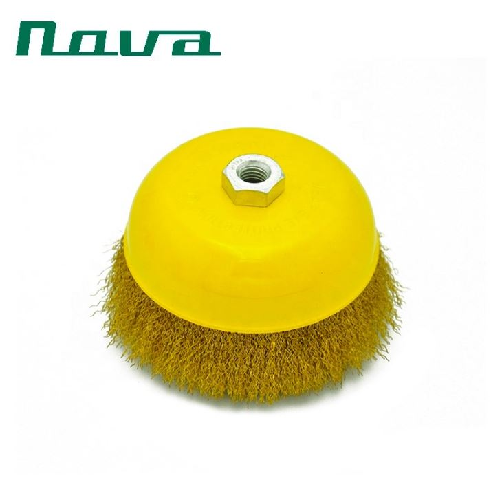 Brass Wire Wheel Brush For Grinder