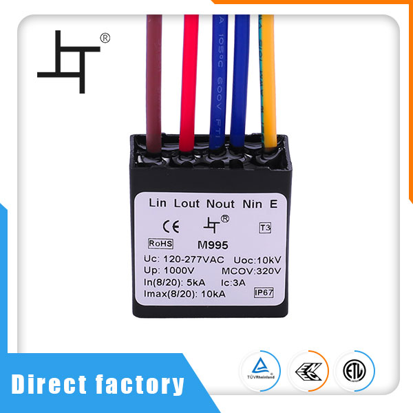 Ip67 Led Street Lamp Surge Protection Device