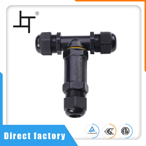 T Type Wire And Cable Waterproof Connector