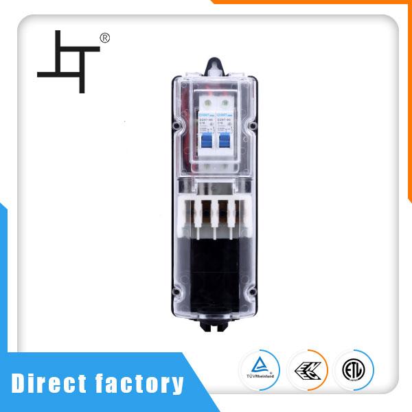 IP54 водоустойчива разпределителна мощност електрическа кабелна разклонителна кутия