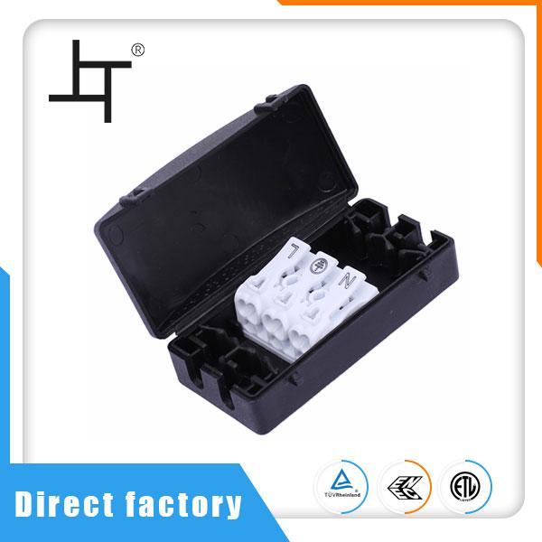 4-пътна електрическа кабелна и кабелна разклонителна кутия