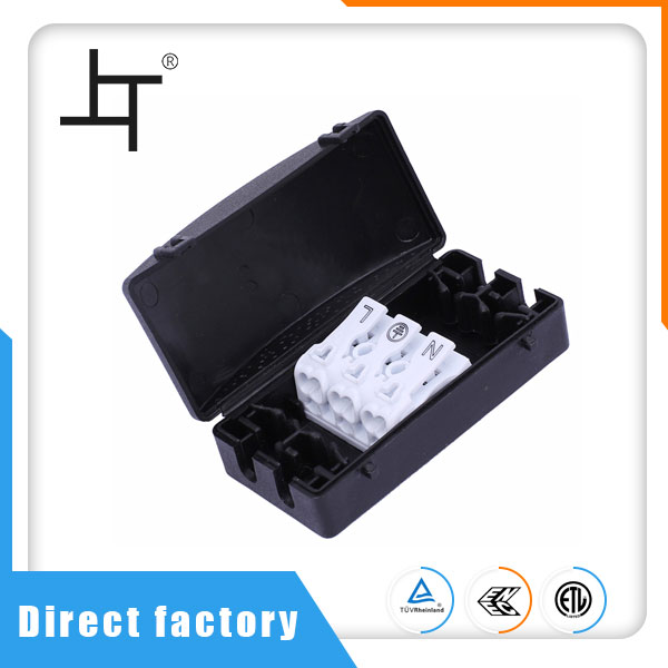 3 Way Parallel Down Light Junction Box