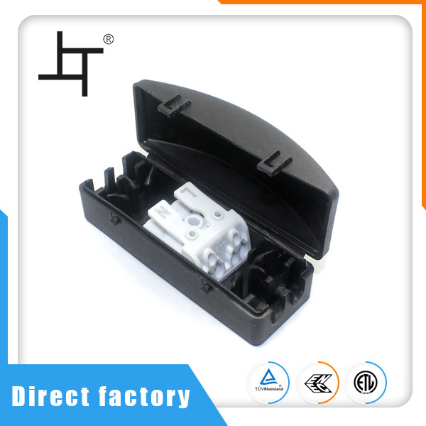 2 Way Electrical Wire And Cable Junction Box