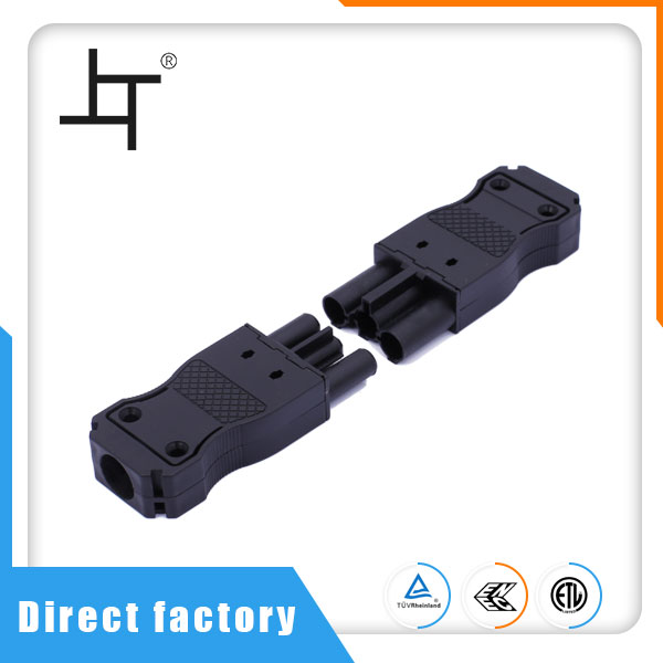 Quick Connect 3 Pin Plastic Electric Connector