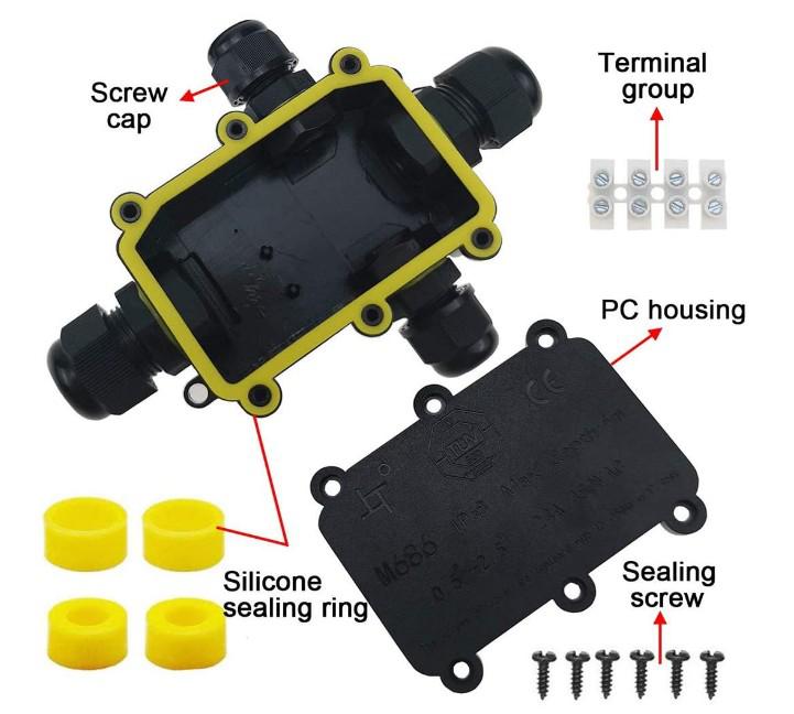 5-12mm Junction Box